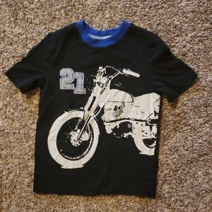 4/$12 Old Navy motorcycle shirt